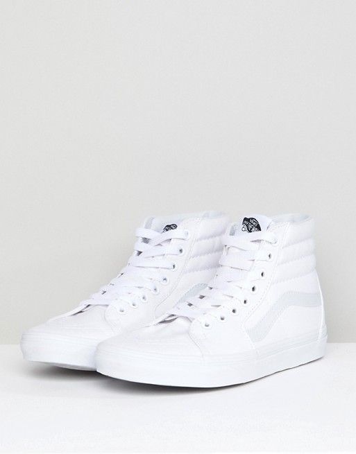 Vans Classic SK8-Hi triple white