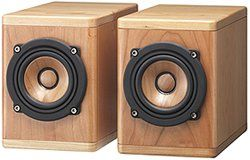 jvc wood cone speakers review