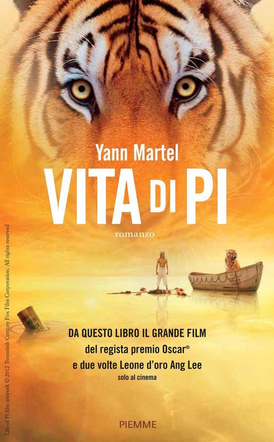 """""""Vita di Pi"""" di Yann Martel edito da piemme, € 6.99 su Bookrepublic.it in formato epub"""