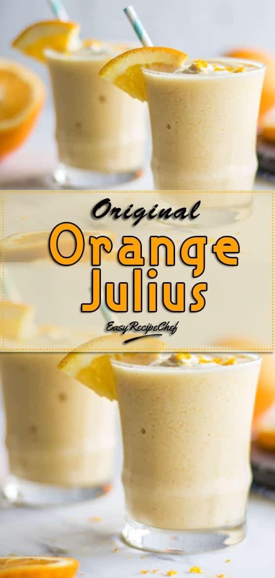 Original Orange Julius Recipe