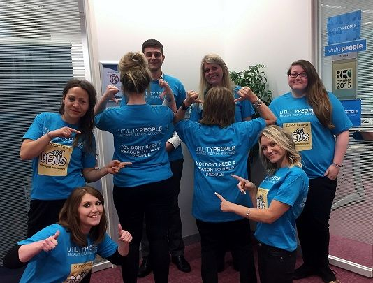 The Utility People Team are very proud to be supporting DENS for such a great cause!