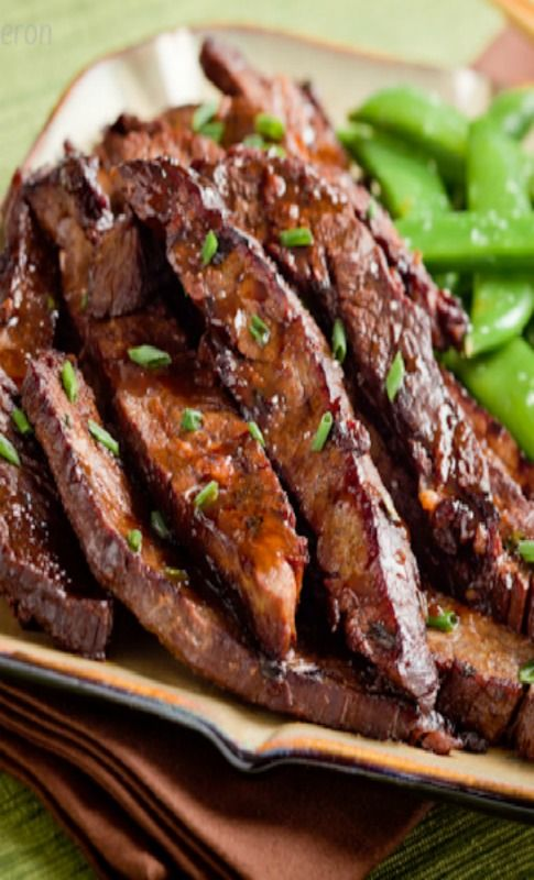 Balsamic marinade, Asian flank steak and Flank steak on Pinterest