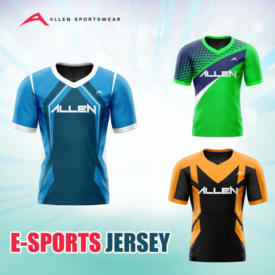 E Sports Is Fun When You And Your Team Play Woth The Same Team Spirit And The Same Uniforms Buy E Sp In 2020 Custom Sportswear American Football Jersey Football Pants