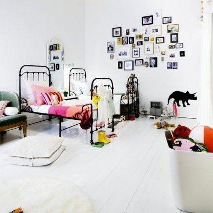 Łóżko dla dziecka - metalowe i stylowe - domplusdom.pl 2