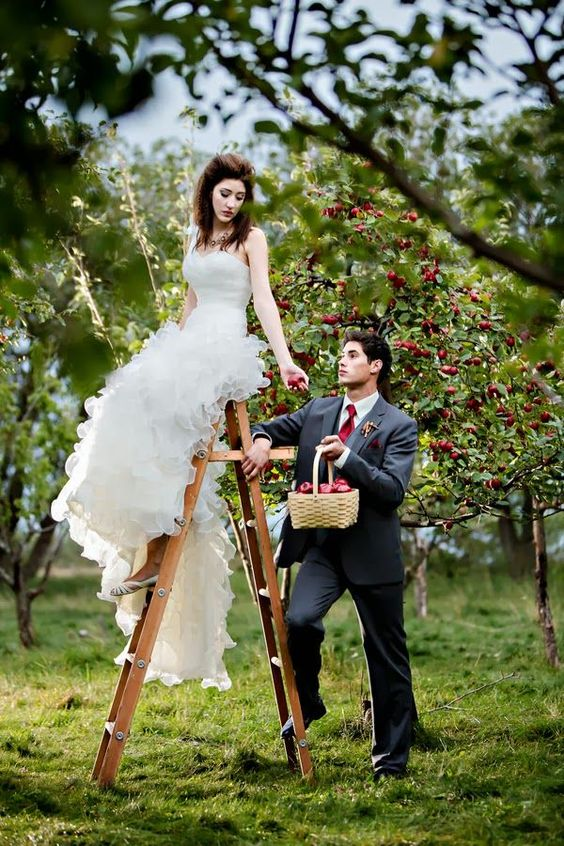 Apple themed wedding ideas - Deer Pearl Flowers