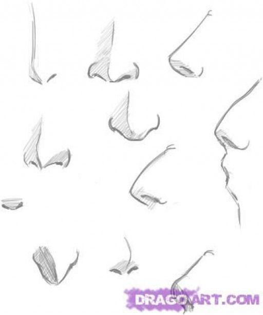 How To Draw Noses Step 4 Peopledrawing People Drawing Nose Draw Drawing Nose Noses People Peopledrawing Nose Drawing Sketch Nose Manga Nose