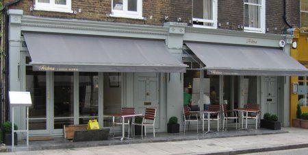Trishna restaurant.  Marylebone village