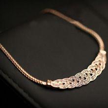 Cristal de estilo de verano espiral Maix colgantes de los collares de moda oro / plata