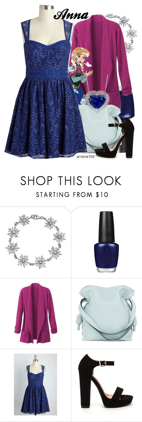 """Anna"" by amarie104 ❤ liked on Polyvore featuring Bling Jewelry, OPI, TravelSmith and Loewe"