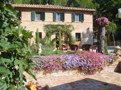 Weber Immobilien präsentiert: Geschmackvoll renoviertes Landhaus in der Toskana Bauernhaus Buonconvento (2V65V3F)