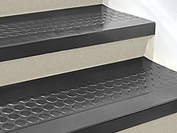 """Stair Treads - Rubber, 48 x 12"""" fro the basement stairs"""