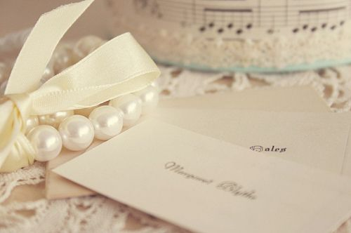 pearls: Wedding Inspiration, Vintage Paper, Endless Inspiration, Pearls Pearls, Pretty Things, Writing Letters
