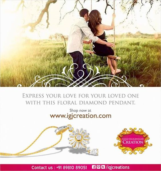 Diamonds are forever and so is your loved one for you. Live your love with #IndianGemandJewelleryCreations #diamondnecklace  #solitarerings #onlinejewellery #earrings #diamondsolitairerings #engagementrings #goldjewellery #Indiangiftjewellery #budgetjewellery #jadaujewellery #platinumrings #diamondnecklaces #goldbangles #girlsearrings