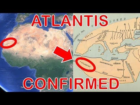 7796 Ancient Map Proves The Lost City Of Atlantis Is The Eye Of