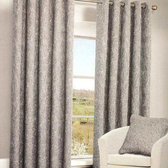 Havana Grey Blackout Eyelet Curtains | Harry Corry Limited ...