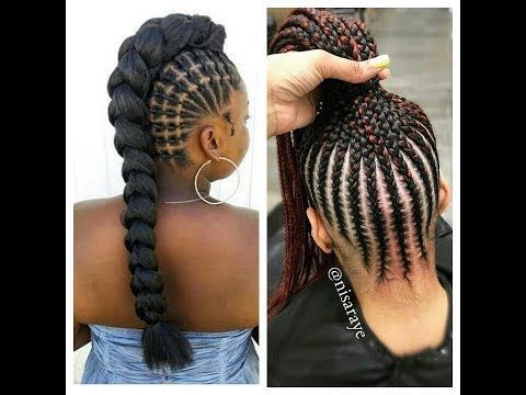 Braided Hairstyles Latest New Braids With Weavens You Need To See Youtube Hair Styles African Hairstyles Kids Braided Hairstyles