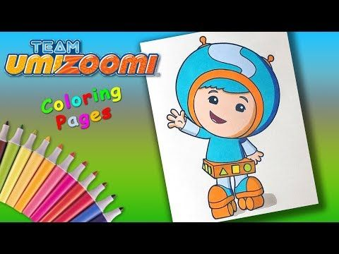 Team Umizoomi Coloringbook Forkids Milli S Younger Brother Geo Coloring Pages Youtube Coloring Pages Coloring Books Rabbit Colors