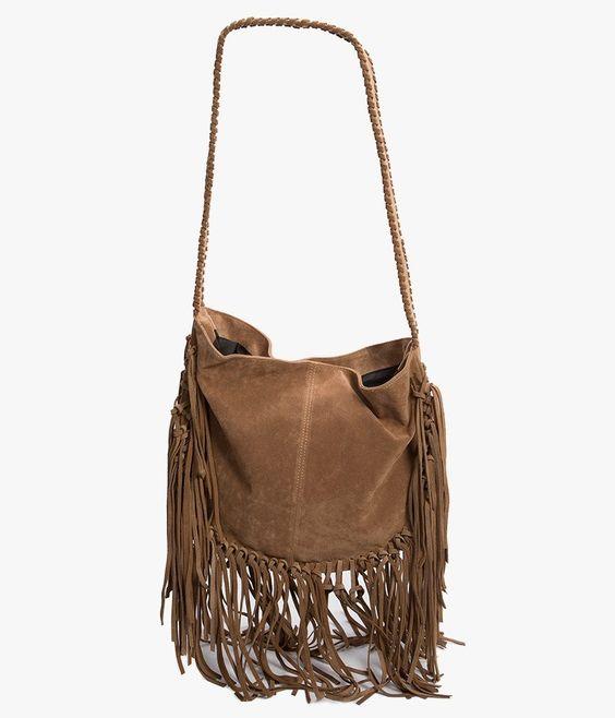 Azalea: Fringe Messenger Bag