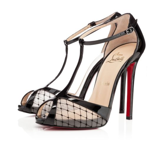 chaussure louboutin dentelle