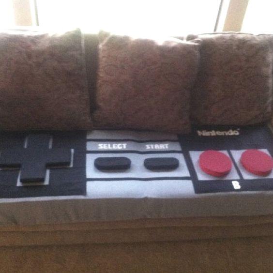 Nintendo NES controller couch