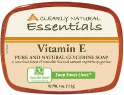 Clearly Natural soap