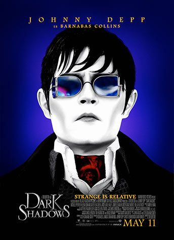 Should be an interesting film. Not the Dark Shadows of my childhood.