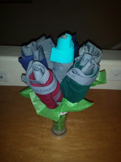 Mens Underwear Flower Bouquet Easy Amp Cute Gift DIY