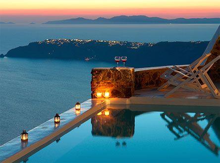 Santorini - this looks fabulous