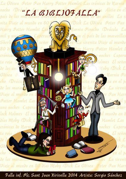 La #Bibliofalla