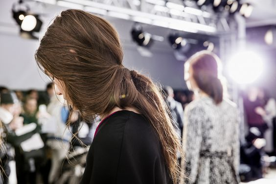 Aveda hair for Charles Youssef NYFW