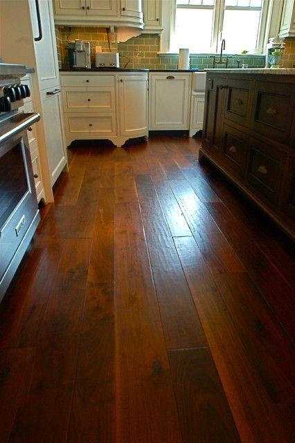 Random Width, French Country Walnut, Hand Scraped, Signature Finish  wood flooring