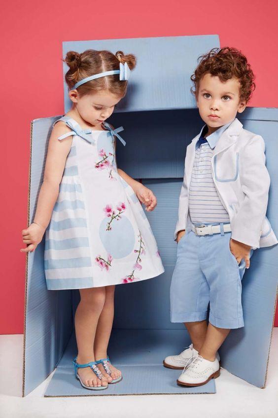 أجمل ملابس اطفال للعيد و أحدث تصاميم موضة 2020 بفبوف Kids Clothing Brands Kids Outfits Kids Summer Fashion