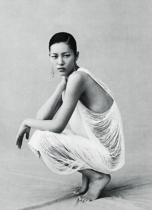 """tomboybklyn: """" Lui Wen…. looking amazing! Vogue China """""""