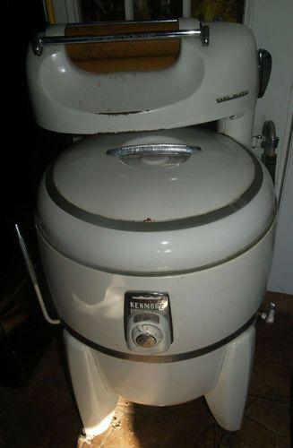 Vintage Sears Kenmore Wringer Washer Washing Machine