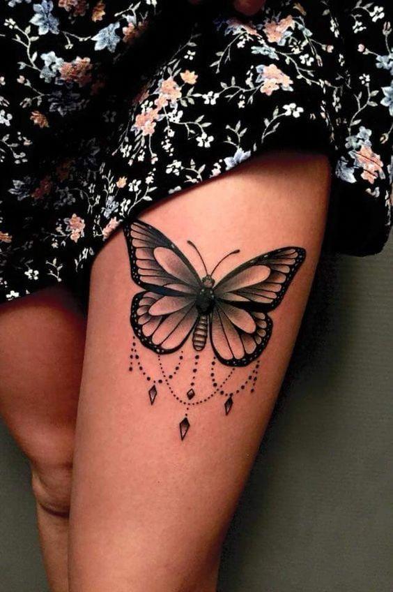 Mujer Pierna Tatuajes