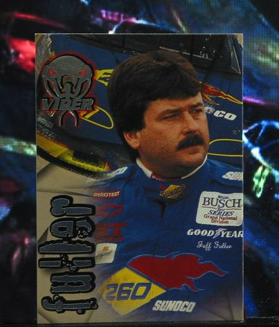 http://nascarniche.blogspot.com/  Jeff Fuller 1996 Wheels Viper Trading Card #52 Base Set Nascar