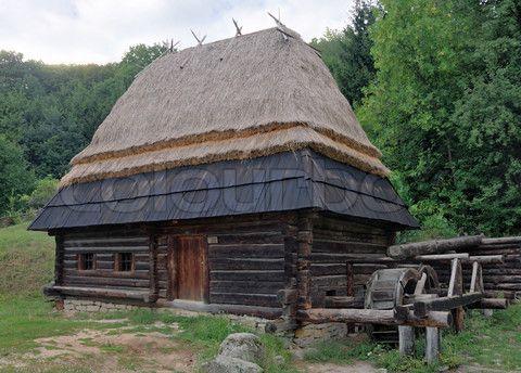 Maison bois en fuste