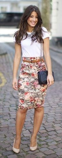 Outfits florales                                                                                                                                                     Más