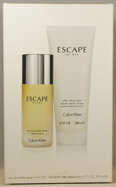 "CALVIN KLEIN ESCAPE MENS FRAGRANCE 2 PCE SET @ $84.95 – Exceptional Value for this Genuine Mens Fragrance !! AVAILABLE NOW AT ""BREATHTAKING"" - BUT HURRY WHILE STOCKS LAST !! http://stores.ebay.com.au/breathtakingstore"