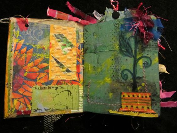 bohemiannie! art: ART JOURNAL...JENNIBELLIE STYLE -WOYWW eeee