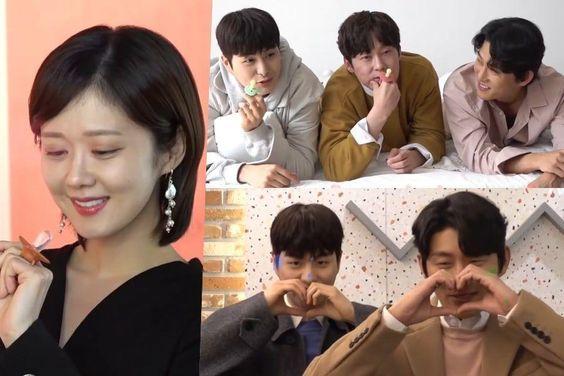 "Watch: Jang Nara, Go Joon, Park Byung Eun, And Jung Gun Joo Playfully Pose In ""Oh My Baby"" Poster And Teaser Making-Of Video"