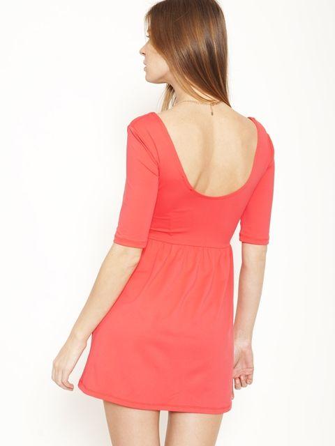 StyleRiver - שמלת מידי כיווצים במותן | StyleRiver