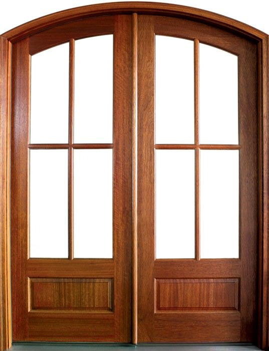 Mahogany Tiffany Sdl 4 Lite Impact Double Door Arch Top 2 1 4 Thick In 2019 French Doors Patio Doors Interior Closet Doors