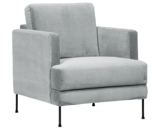 Samt Sessel Fluente Samt Sessel Sessel Und Sessel Mit Hocker