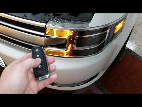 2013 2019 Ford Flex Testing Smart Key Fob Remote Control After Changing Weak Battery Youtube Ford Flex Smart Key Flex
