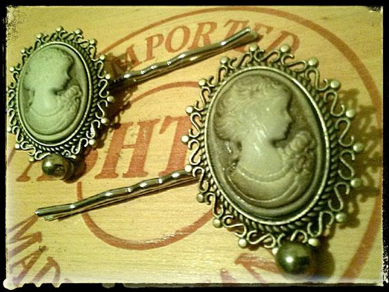 Hey, I found this really awesome Etsy listing at https://www.etsy.com/listing/217738989/vintage-victorian-cameo-pendant-hair