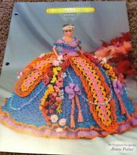 "Annie's Glorious Gowns CROCHET ""Gladiolus"" Flower Garden Collection,Fashion Doll"