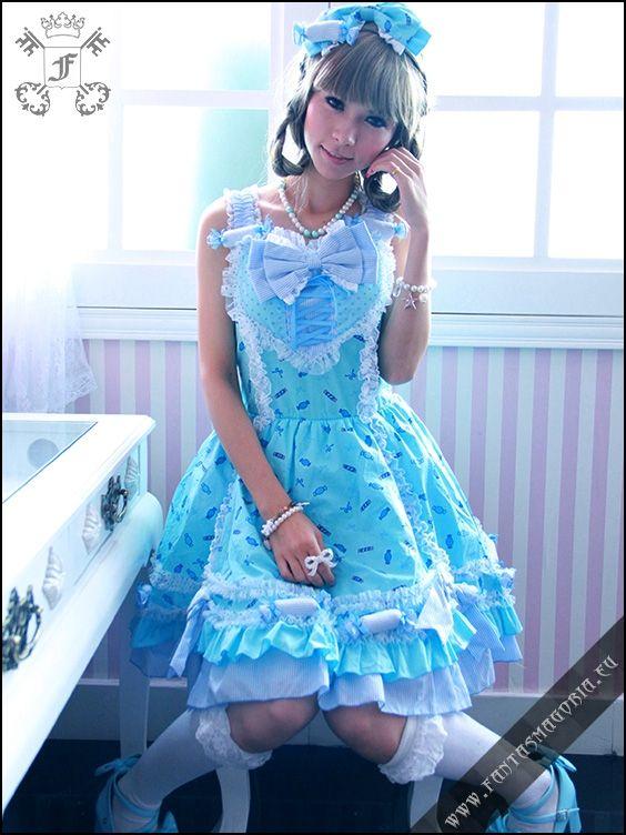 € 64.11 - Blue Sweetheart dress