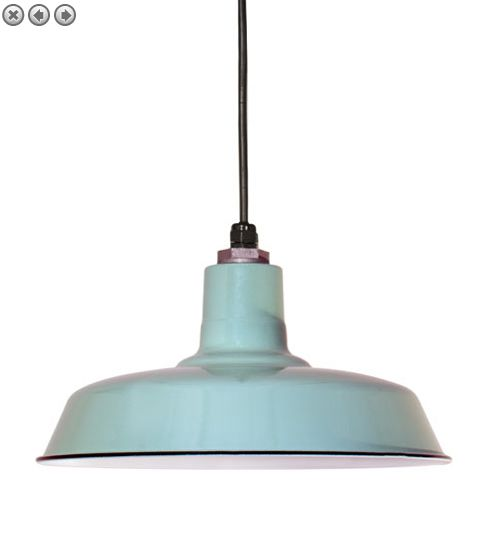Light: Pendant, blue #light #pendant