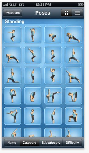 Want to do yoga at home but not sure what to do? Get these awesome apps to help you through it!